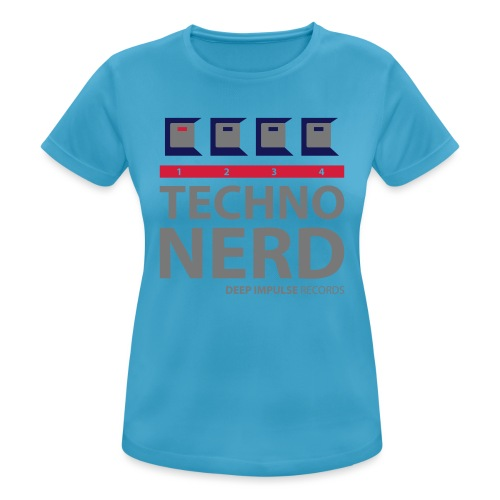 Techno Nerd - Women's Breathable T-Shirt