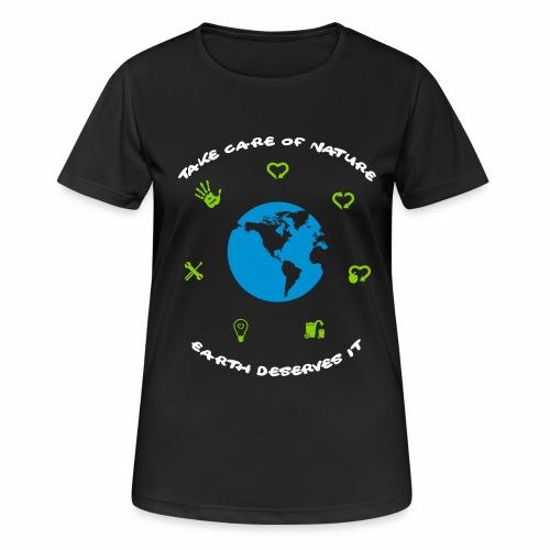 0 déchet - T-shirt respirant Femme