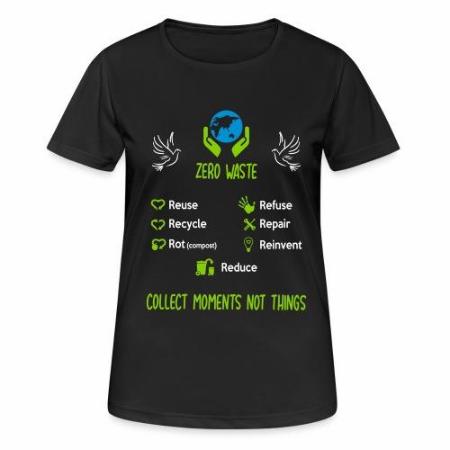 0 de chet face - T-shirt respirant Femme