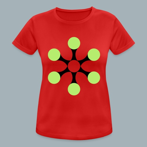 Star Bio T-shirt - Vrouwen T-shirt ademend actief