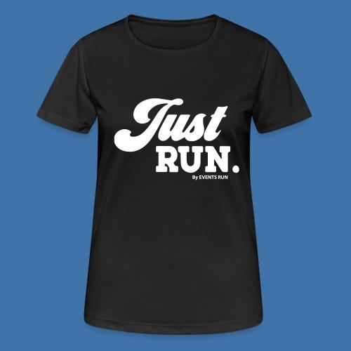just-run - T-shirt respirant Femme