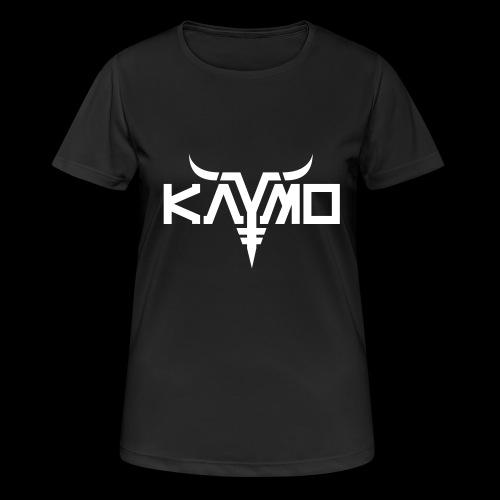 KayMo Logo - Pustende T-skjorte for kvinner