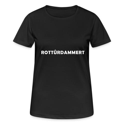 Rotturdammert - Vrouwen T-shirt ademend actief