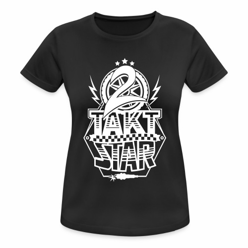 2-Takt-Star / Zweitakt-Star - Women's Breathable T-Shirt