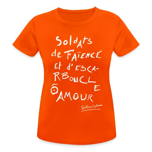 Calligramme - Soldat de faillance - T-shirt respirant Femme