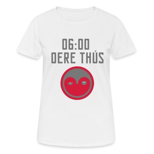 6 oere tus - wit - Vrouwen T-shirt ademend actief