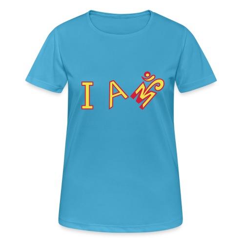 Jeg er Om - Dame T-shirt svedtransporterende