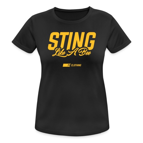 Sting Like A Bee 2.0 - Women's Breathable T-Shirt