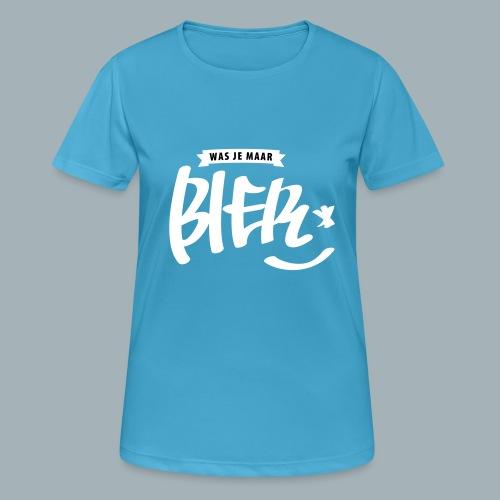 Bier Premium T-shirt - Vrouwen T-shirt ademend actief