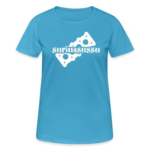 Surinasussu - naisten tekninen t-paita