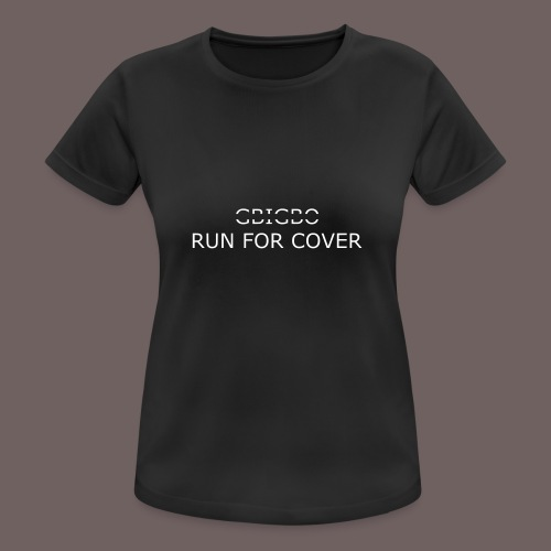 GBIGBO zjebeezjeboo - Tranches - Run For Cover - T-shirt respirant Femme