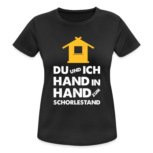 Hand in Hand zum Schorlestand / Gruppenshirt - Frauen T-Shirt atmungsaktiv