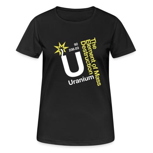 OBE Uranium - Women's Breathable T-Shirt