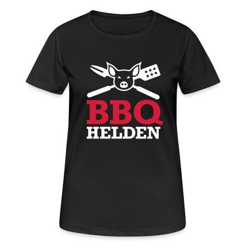 logo diap klein - Vrouwen T-shirt ademend actief
