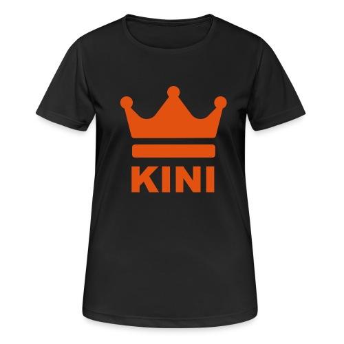 KINI ist König - Frauen T-Shirt atmungsaktiv