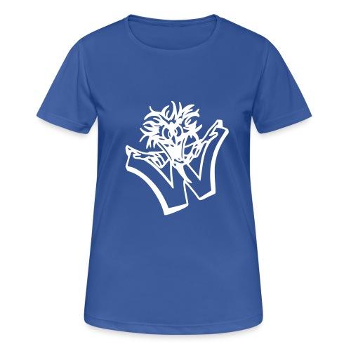 w wahnsinn - Vrouwen T-shirt ademend actief