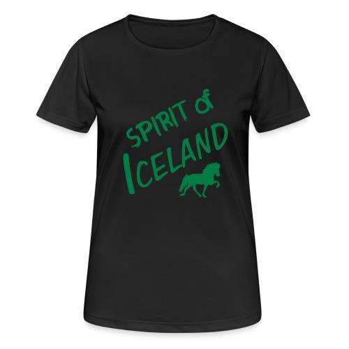 4gaits ruecken - Frauen T-Shirt atmungsaktiv