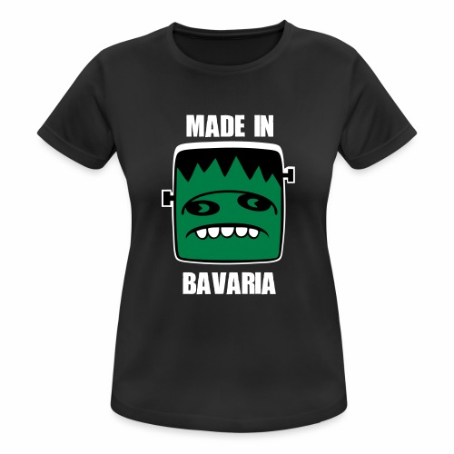 Fonster weiß made in Bavaria - Frauen T-Shirt atmungsaktiv