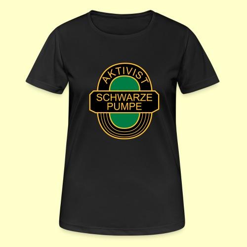 BSG Aktivist Schwarze Pumpe - Frauen T-Shirt atmungsaktiv