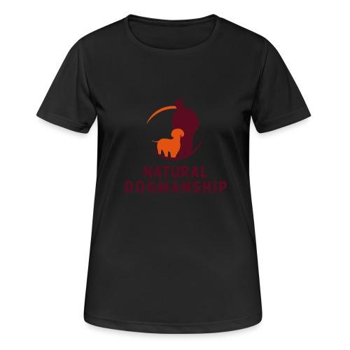 Natural Dogmanship Weste - Frauen T-Shirt atmungsaktiv