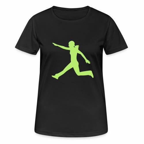 Kraft und Takt - Frauen T-Shirt atmungsaktiv