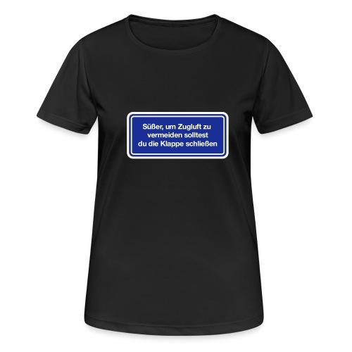 zugluft_er - Frauen T-Shirt atmungsaktiv