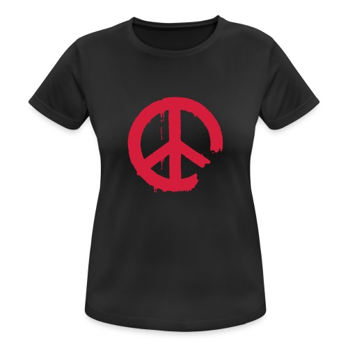 PEACE - Frauen T-Shirt atmungsaktiv