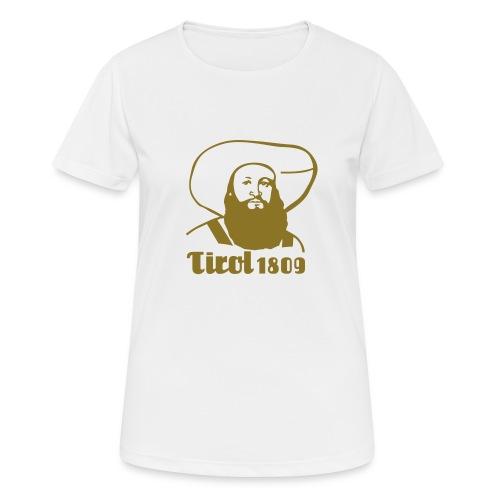 Andreas Hofer Silber1 - Frauen T-Shirt atmungsaktiv