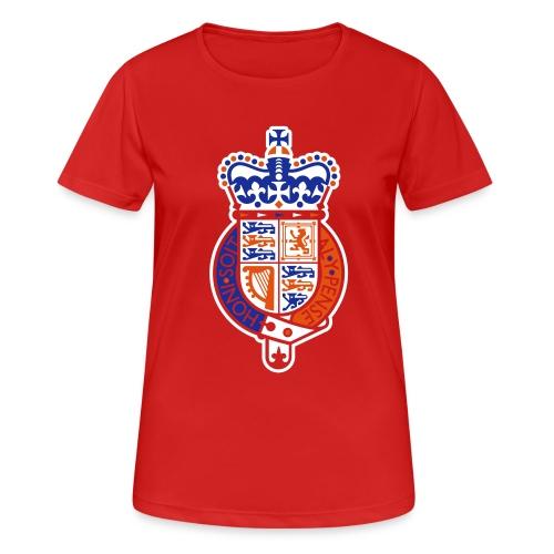 British Seal Pixellamb - Frauen T-Shirt atmungsaktiv