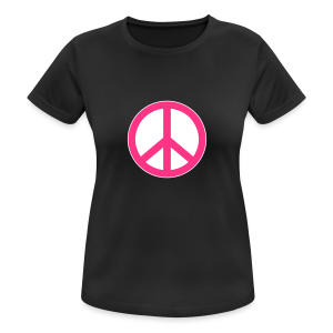 Peace, Love and Happiness - vrouwen T-shirt ademend