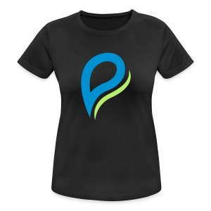Philsfitnessworld Logo - Frauen T-Shirt atmungsaktiv