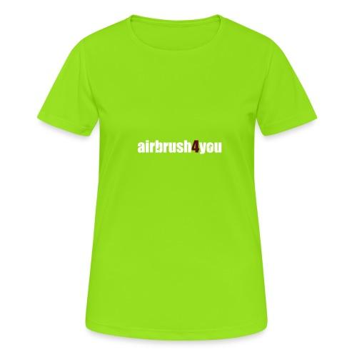 Airbrush - Frauen T-Shirt atmungsaktiv