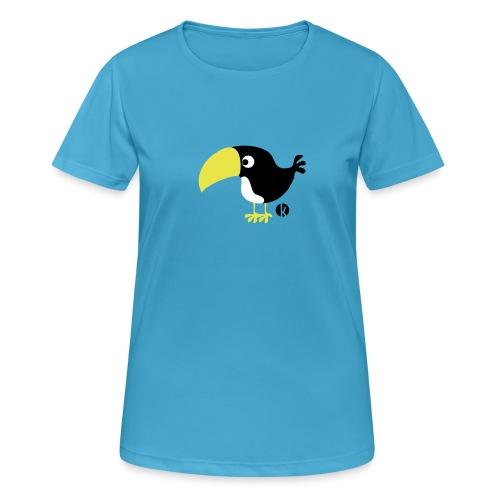 Tukan - Frauen T-Shirt atmungsaktiv