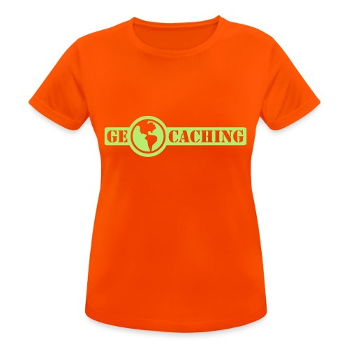 Geocaching - 1color - 2011 - Frauen T-Shirt atmungsaktiv