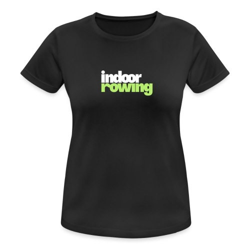 indoor rowing logo 2c - Women's Breathable T-Shirt