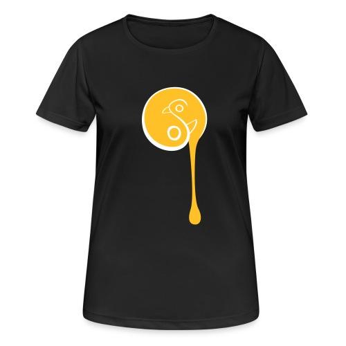 YinYang Birds - Frauen T-Shirt atmungsaktiv
