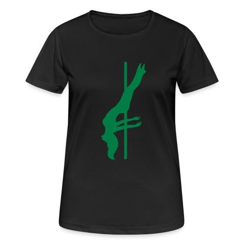 Pole Dance - Maglietta da donna traspirante