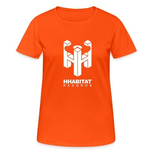 HHabitat Records Logo - Maglietta da donna traspirante