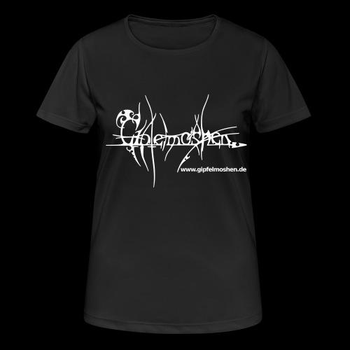gipfelmoshen www 20111204 mit doppeltemv - Frauen T-Shirt atmungsaktiv