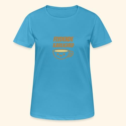 Flydende kærlighed - Dame T-shirt svedtransporterende