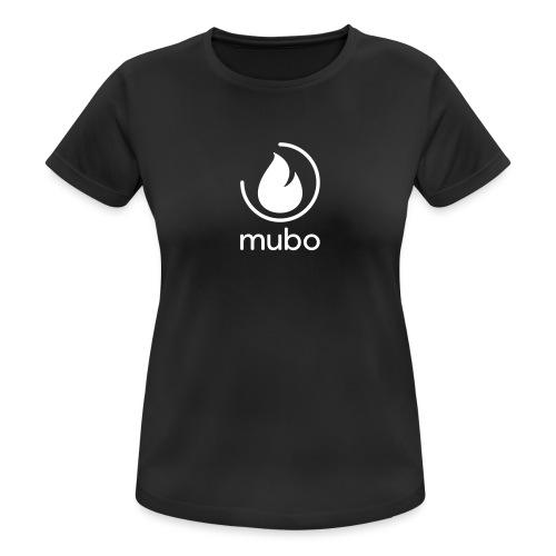 mubo logo - Women's Breathable T-Shirt