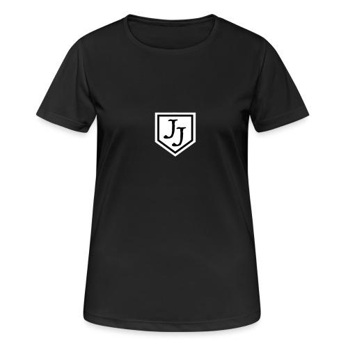 JJ logga - Andningsaktiv T-shirt dam
