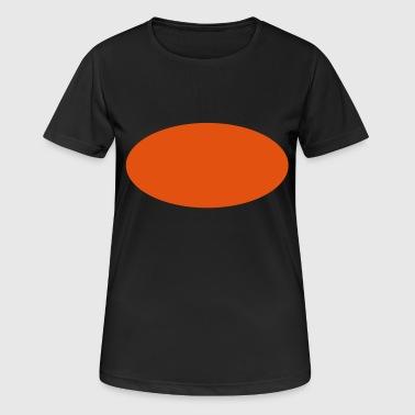 2541614 12803417 ellipse - Dame T-shirt svedtransporterende