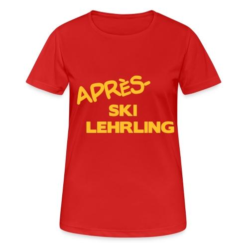 Après Ski Lehrling, Winter Shirt - Frauen T-Shirt atmungsaktiv