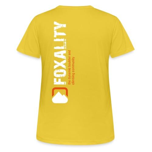 Climbing Community FOXALITY - Frauen T-Shirt atmungsaktiv