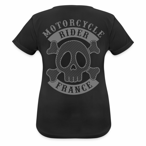 Motorcycle Rider France - T-shirt respirant Femme