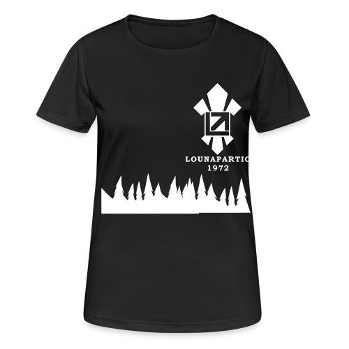 louvaatelogo - naisten tekninen t-paita