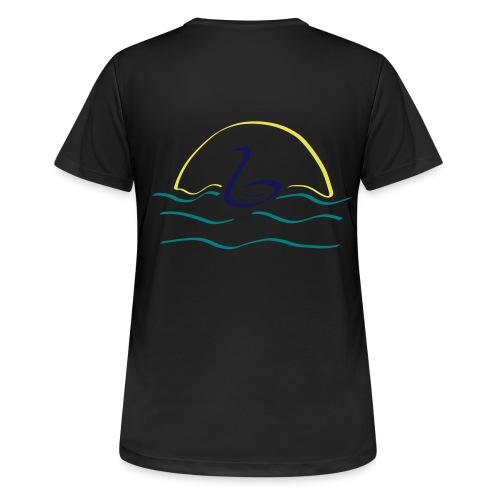 Swan - Vrouwen T-shirt ademend actief