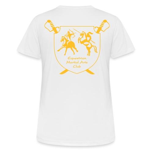 logo miekat vektorig - naisten tekninen t-paita