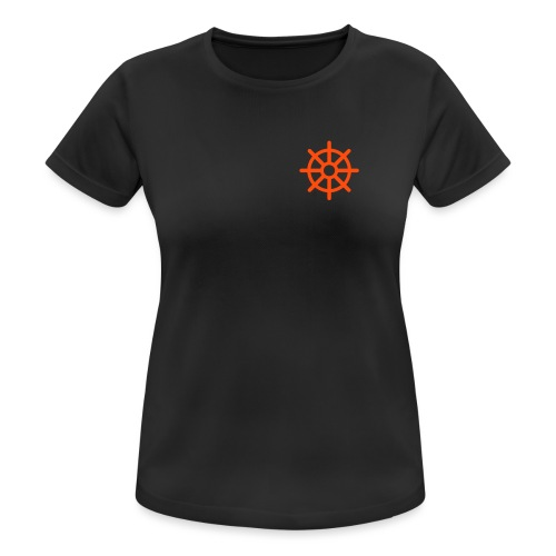 steuerrad - Frauen T-Shirt atmungsaktiv